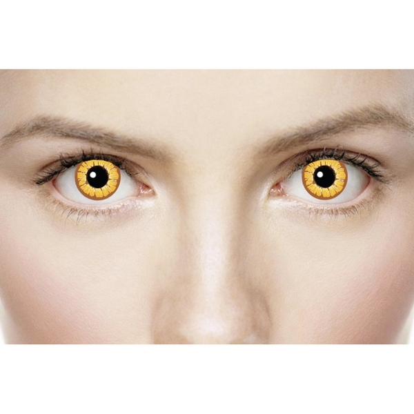 Golden Vampire 1 Day Halloween Coloured Contact Lenses (MesmerEyez XtremeEyez) - Image 4