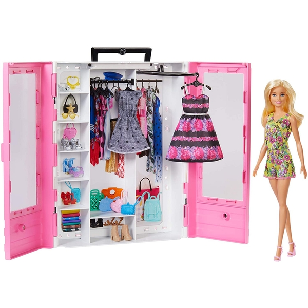 Barbie GBK12 Fashionistas Ultimate Closet Doll and Accessory