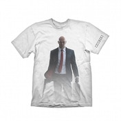 Hitman T-Shirt The Hitman Mens White Medium