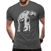 Star Wars 8 The Last Jedi - Guerilla Walker Men's X-Large T-Shirt - Grey