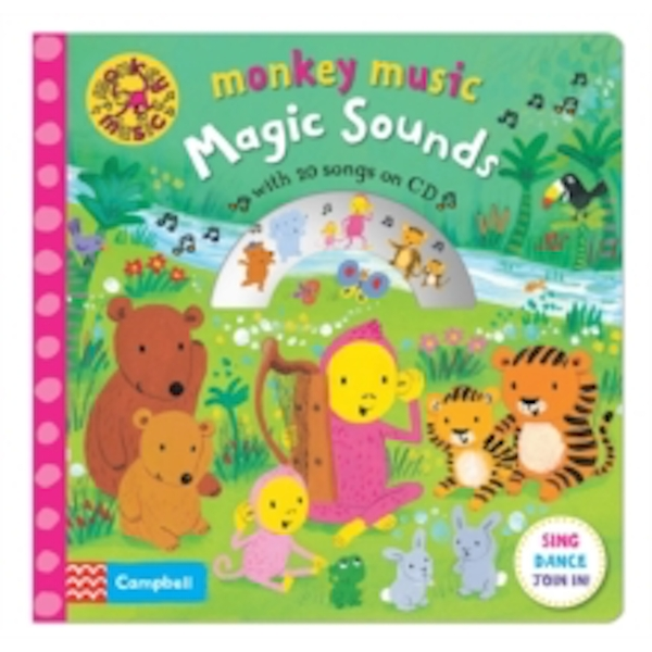 Monkey Music Magic Sounds : Book and CD Pack