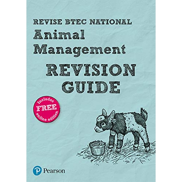 Revise BTEC National Animal Management Revision Guide (with free online edition) Mixed media product 2017