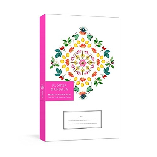 Flower Mandala Week-at-a-Glance Diary  Other printed item 2018