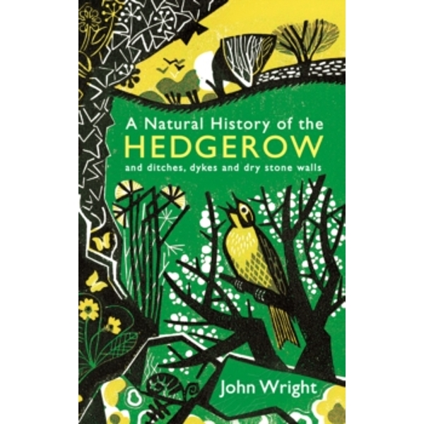 A Natural History of the Hedgerow: and ditches, dykes and dry stone walls by John Wright (Paperback, 2017)