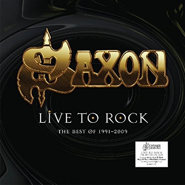 SAXON - Live To Rock - The Best Of 1991-2009 (1 LP) Vinyl