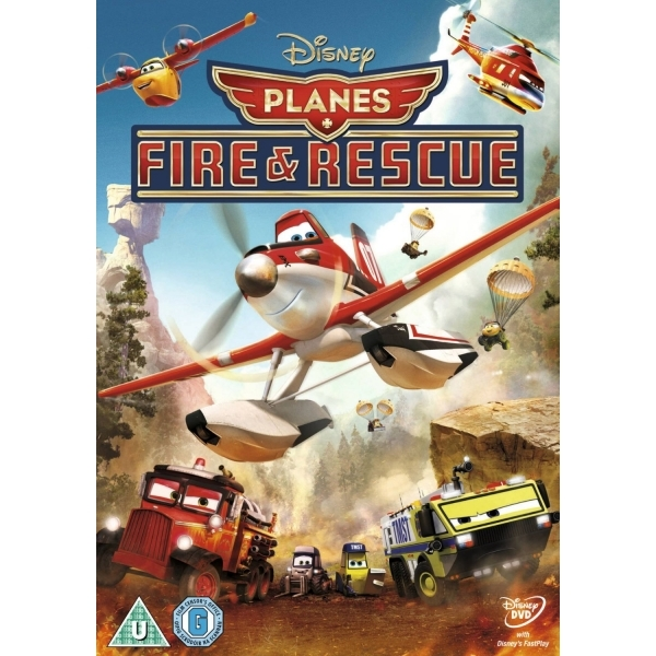 Planes 2 Fire and Rescue DVD