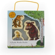 The Gruffalo Pack of 3 Chunky Wooden Puzzles