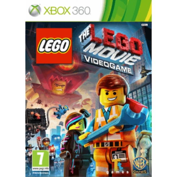 (Pre-Owned) The LEGO Movie The Videogame Game Xbox 360 (Classics) Used - Like New