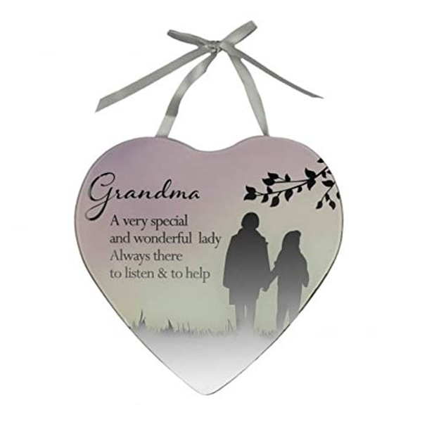 Reflections Of The Heart Grandma Plaque
