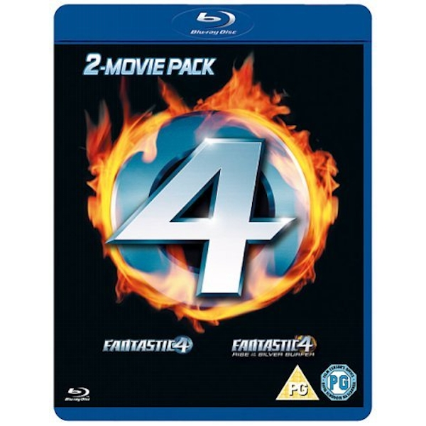 Fantastic Four Double Pack Blu-ray DVD