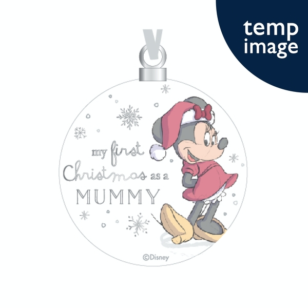 Minnie Ceramic Bauble - Mummy