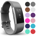 Yousave Fitbit Charge 2 Strap Single (Small) - Grey