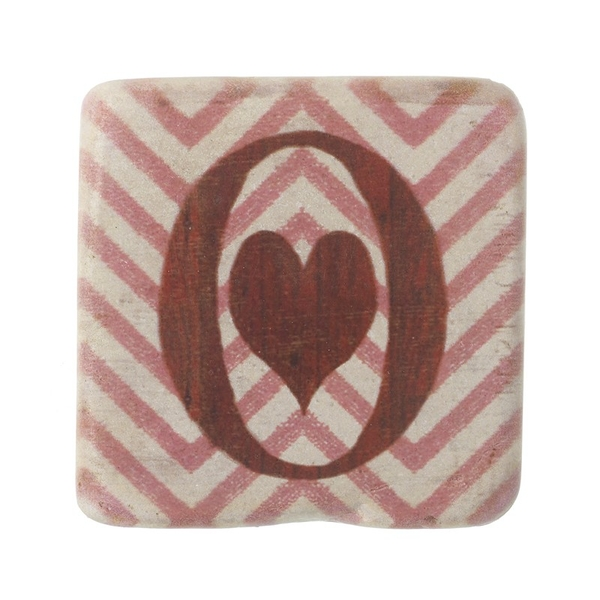 Letter O Coasters By Heaven Sends