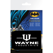 Batman Comic Wayne Industries Card Holder
