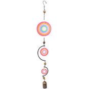 Red Multi Circle Windchime