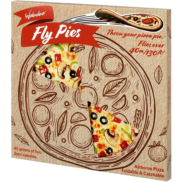 Fly Pies Silicone Pizza Toy