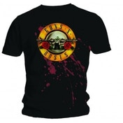 Guns N Roses Bullet Mens Black T Shirt: Large