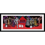 Doctor Who Villains Framed Collector Print