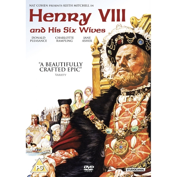 Henry VIII And His 6 Wives DVD