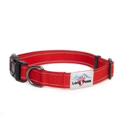 Long Paws Urban Trek Reflective Collar Medium Red