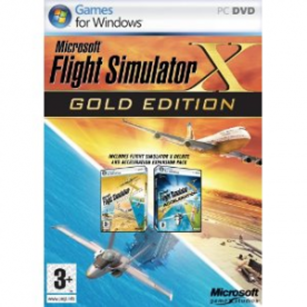 Flight Simulator X GOLD Edition Game PC - Image 1