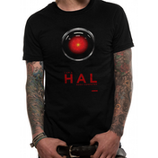 2001 Space Odyssey - Hal 9000 Men's XX-Large T-Shirt - Black