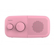 Goodmans Pebble DAB Radio Pink UK Plug