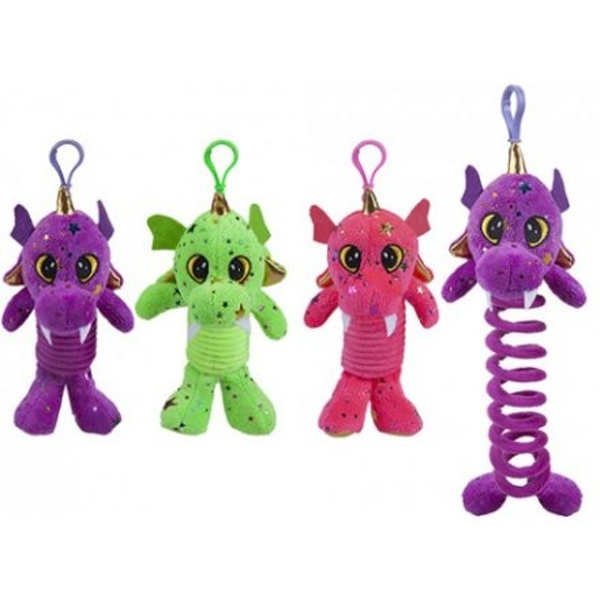 Pet Dragon Clip-On 7 inch (1 Random Supplied)