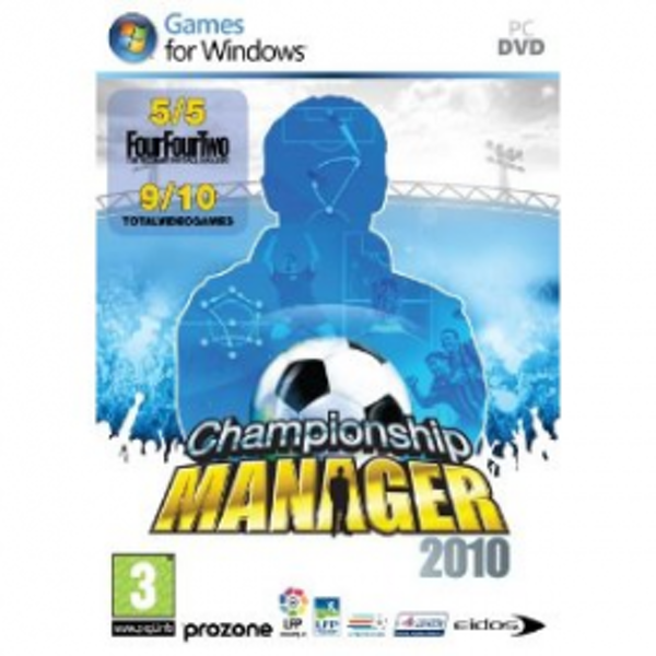 Championship Manager 2010 Game PC