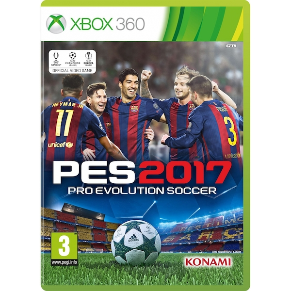 Pro Evolution Soccer 2017 Xbox 360 Game