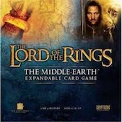 The Lord Of The Rings Middle Earth Expandable Card Game Starter Pack