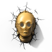 Star Wars 3D Deco Wall Light - C-3PO