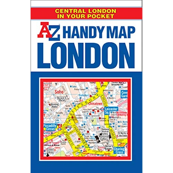 Handy Map of Central London Inspiration and Practical Advice for Would-be Smallholders 2019 Paperback / softback