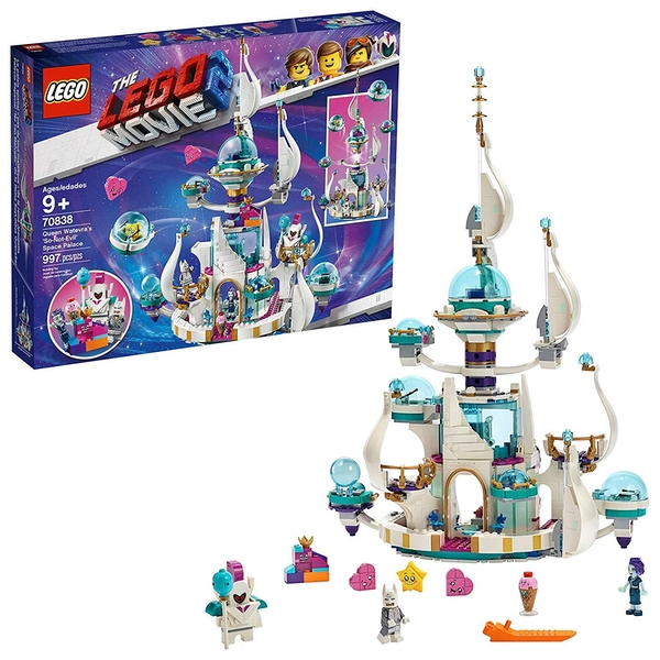 Lego Movie 2 Queen Watevra's Space Palace