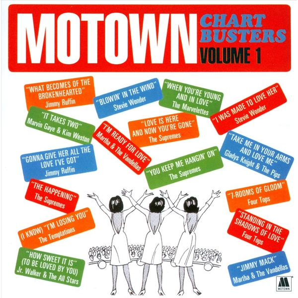 Motown Chartbusters Volume 1 CD