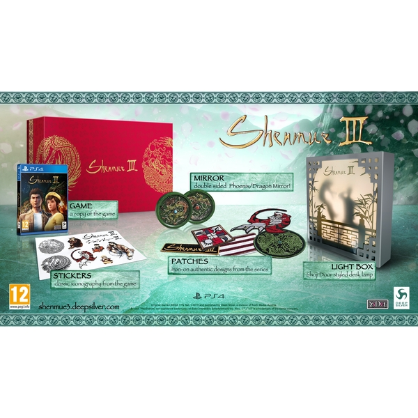 Shenmue III Collector Edition PS4 Game