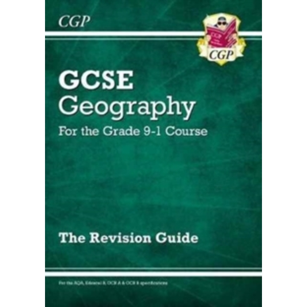 New Grade 9-1 GCSE Geography Revision Guide by Coordination Group Publications Ltd (CGP) (Paperback, 2017)