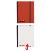 Ultra Pro Binder Red & White Flip