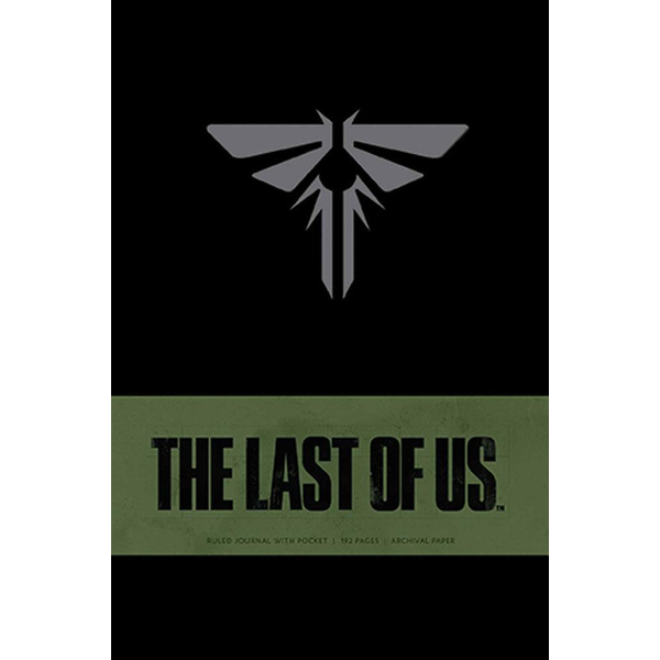 The Last of Us Hardcover Ruled Journal Logo