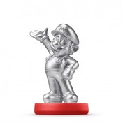 (Damaged Packaging) Silver Mario Amiibo (Super Mario Collection) for Nintendo Wii U & 3DS (US Version)