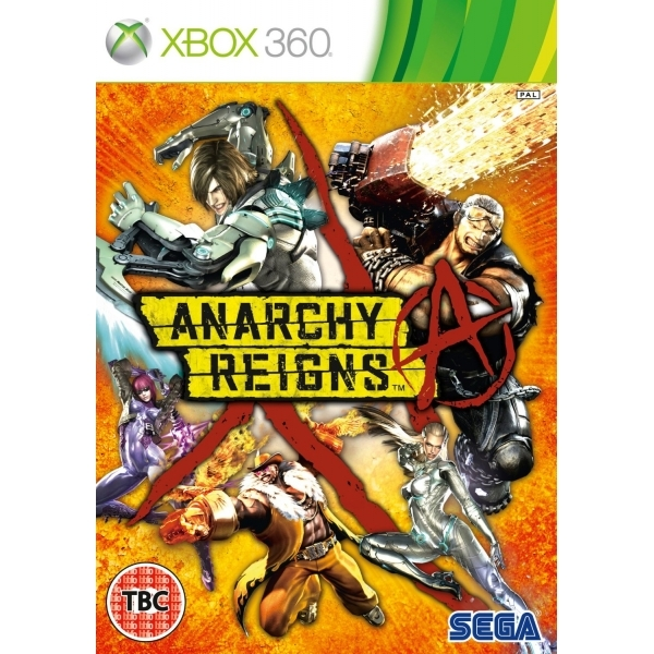 Anarchy Reigns Xbox 360 Game