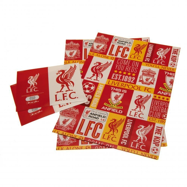Liverpool FC Gift Wrap