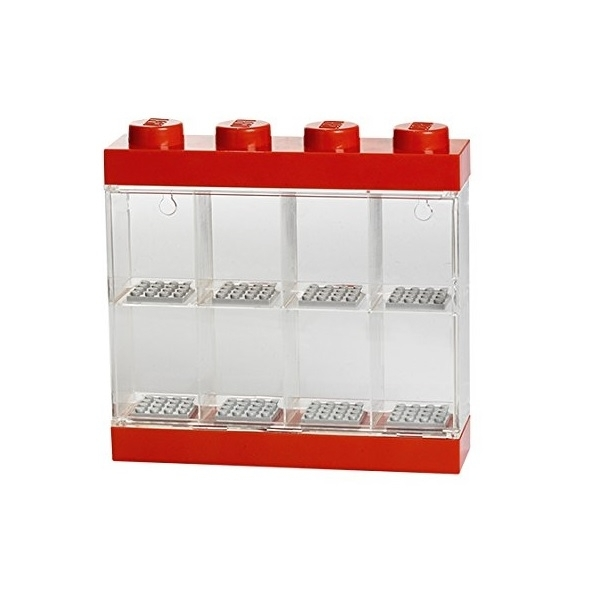 LEGO Small Minifigure Case Red