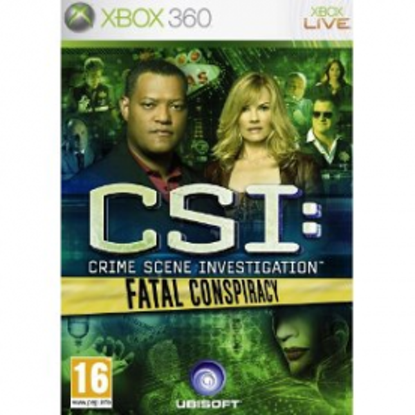 CSI Crime Scene Investigation Fatal Conspiracy Game Xbox 360
