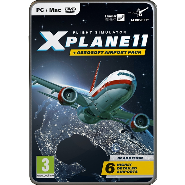 X-Plane 11 & Aerosoft Airport Collection PC Game - Image 1