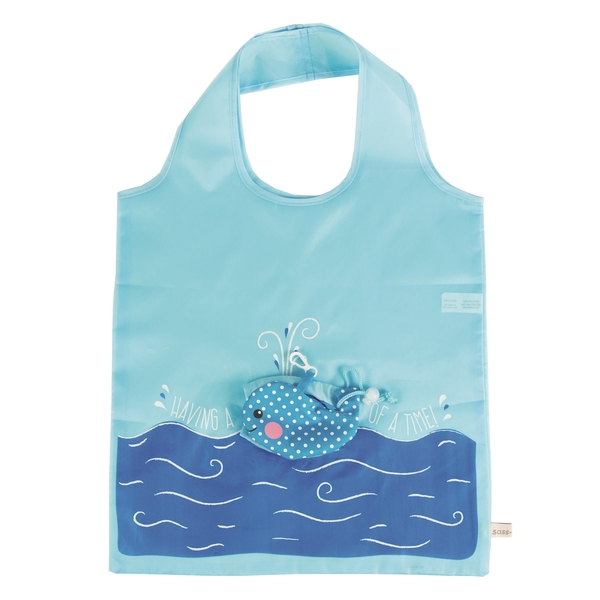 Sass & Belle Whale Foldable Shopping Bag