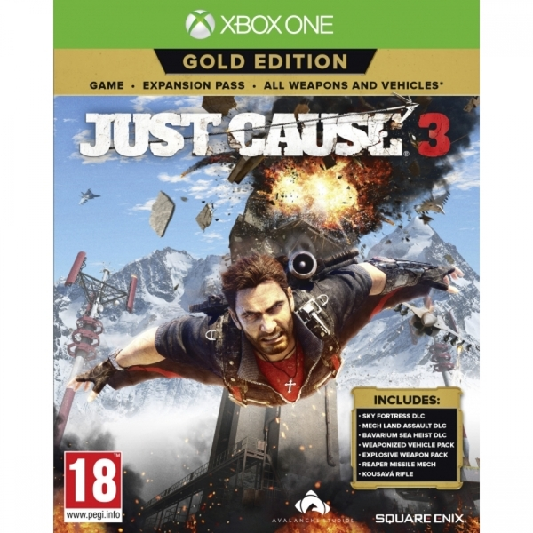 New Just Released Xbox 1 Game : Disc only just cause gold edition xbox one game used