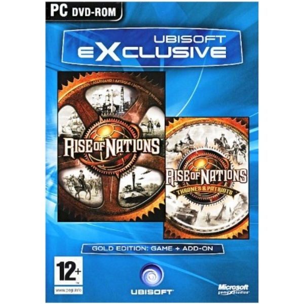 Rise Of Nations Gold Edition Game + Add On Game PC