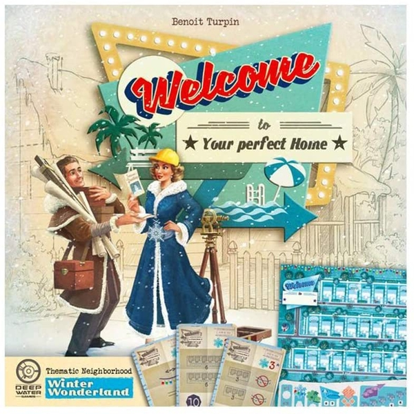 Welcome To: Winter Wonderland Expansion Board Game