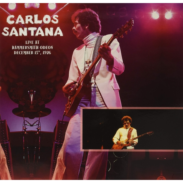 Carlos Santana - Live At Hammersmith Odeon. December 15Th. 1976 Vinyl